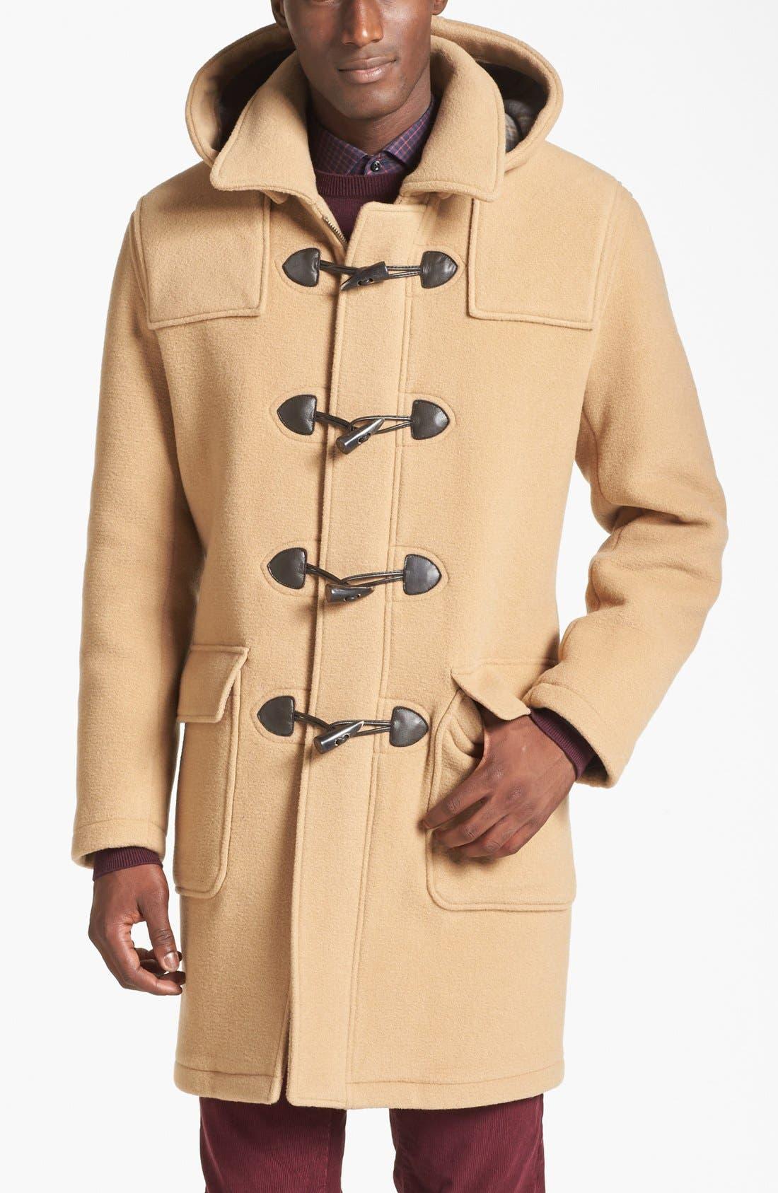 Alternate Image 1 Selected - Brooks Brothers Duffle Coat