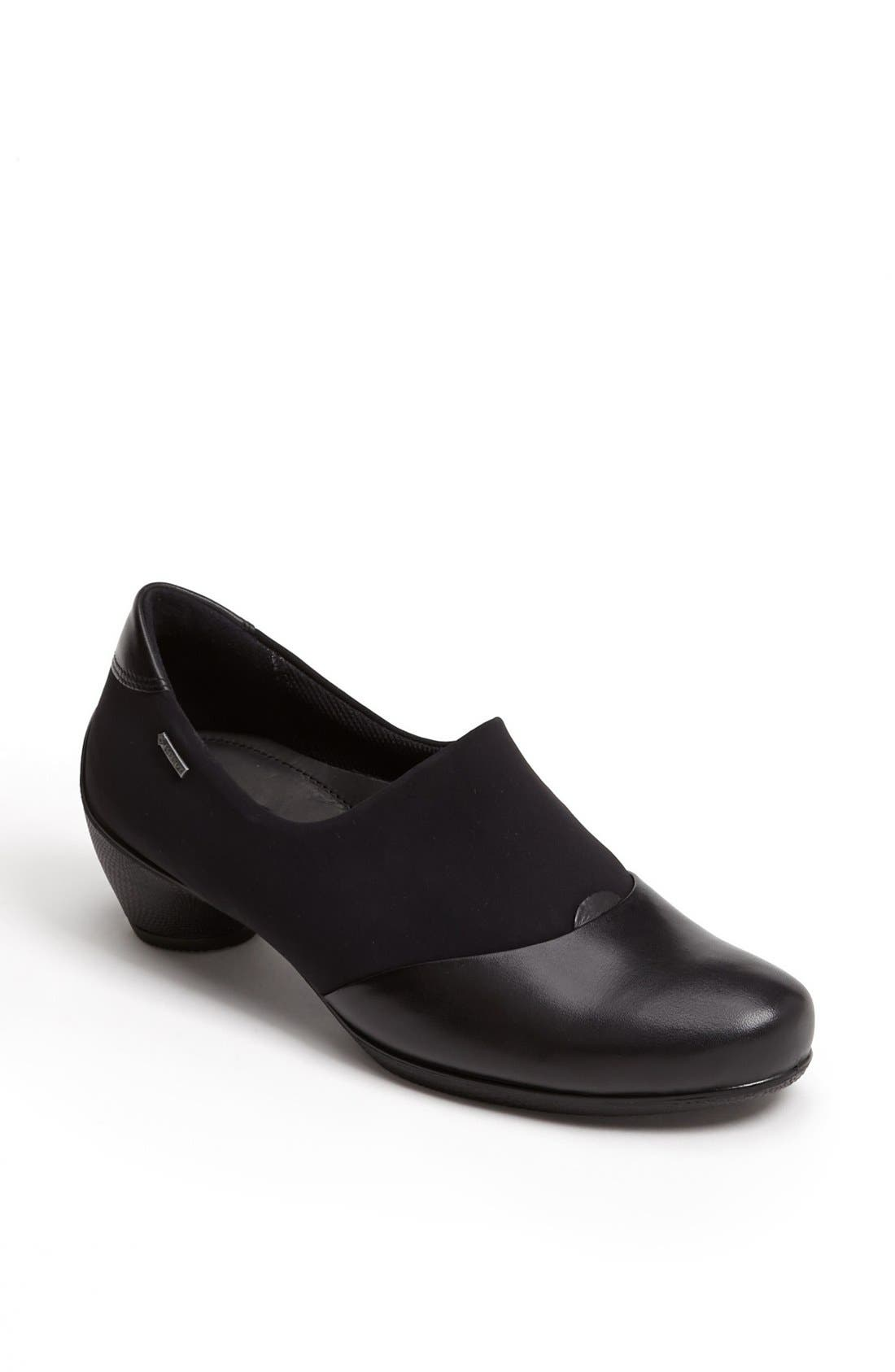 Alternate Image 1 Selected - ECCO 'Sculptured' Gore-Tex® Slip-On (Women)