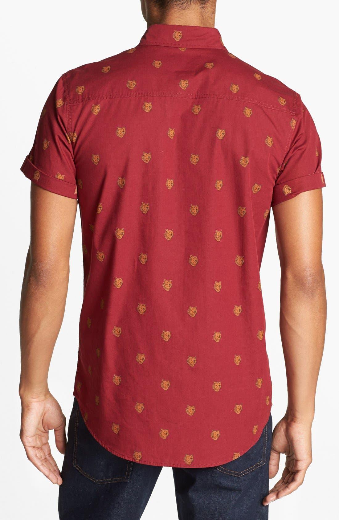 Alternate Image 2  - Topman 'Bears - High Roller' Shirt