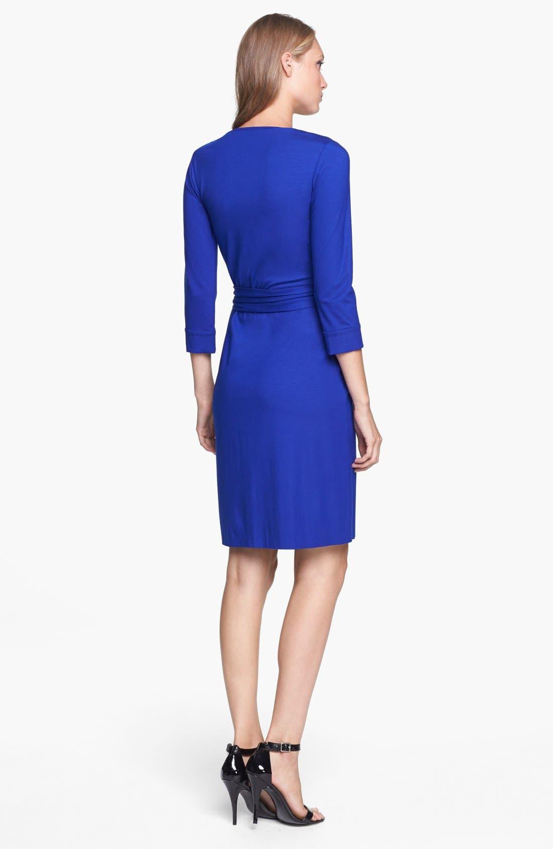Alternate Image 2  - Diane von Furstenberg 'New Julian 2' Jersey Wrap Minidress
