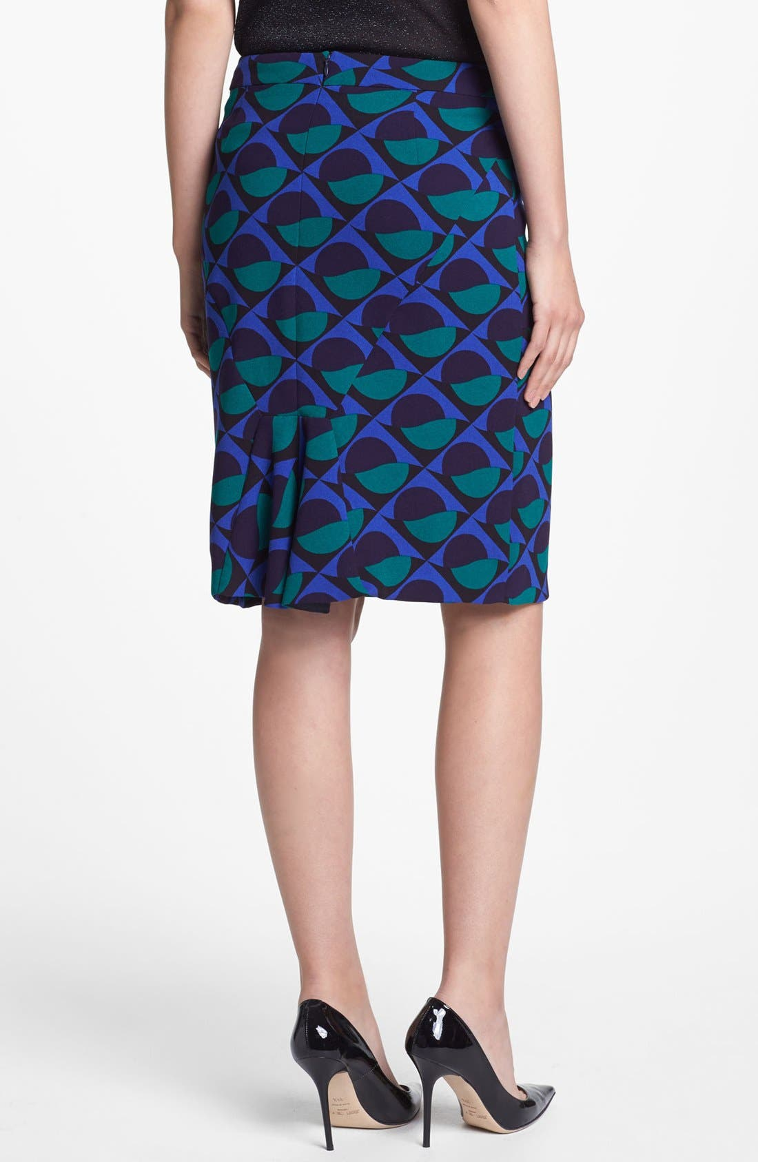 Alternate Image 2  - MARC BY MARC JACOBS 'Etta' Print Pencil Skirt