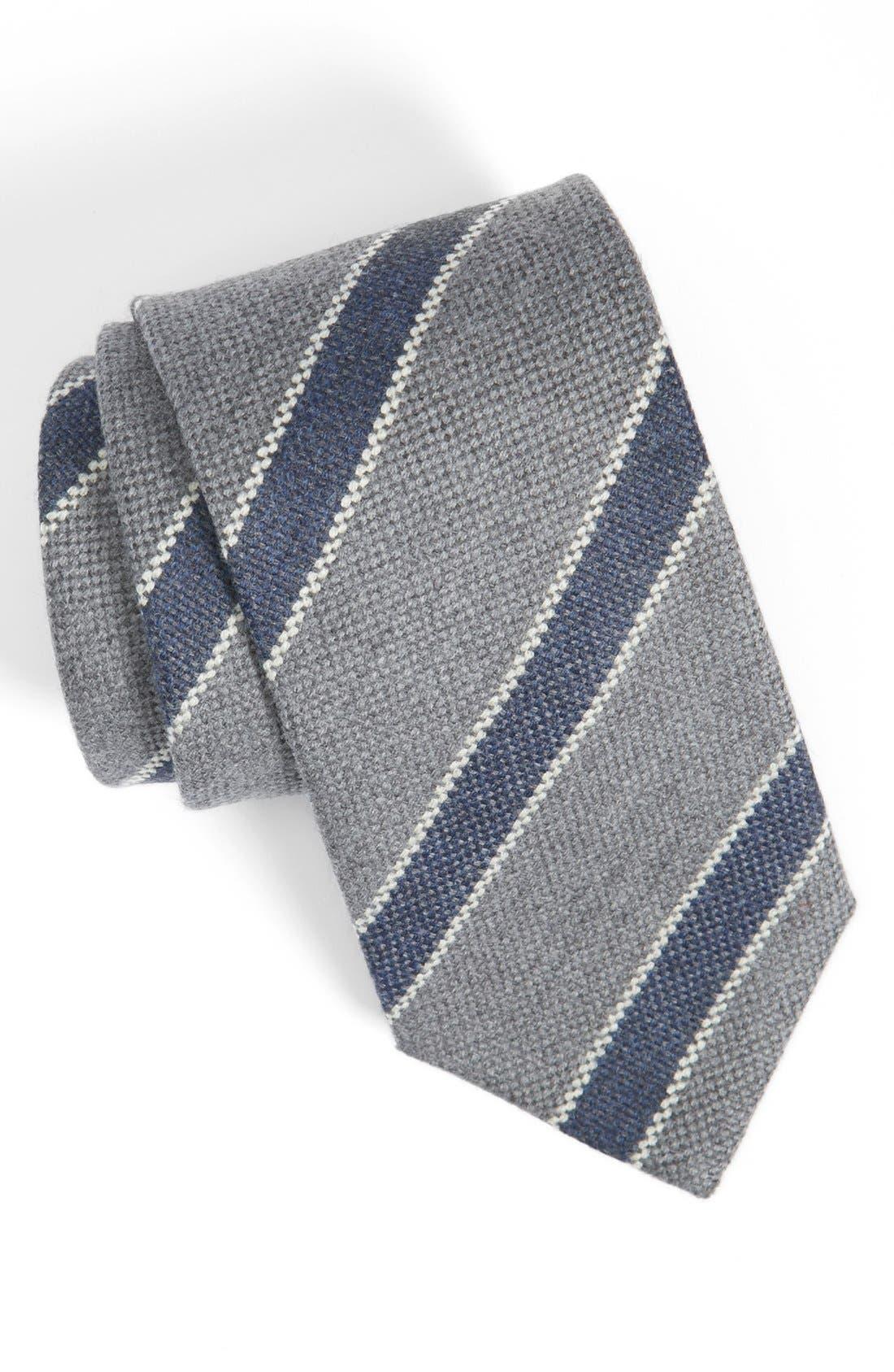 Alternate Image 1 Selected - Peter Millar Woven Wool Tie