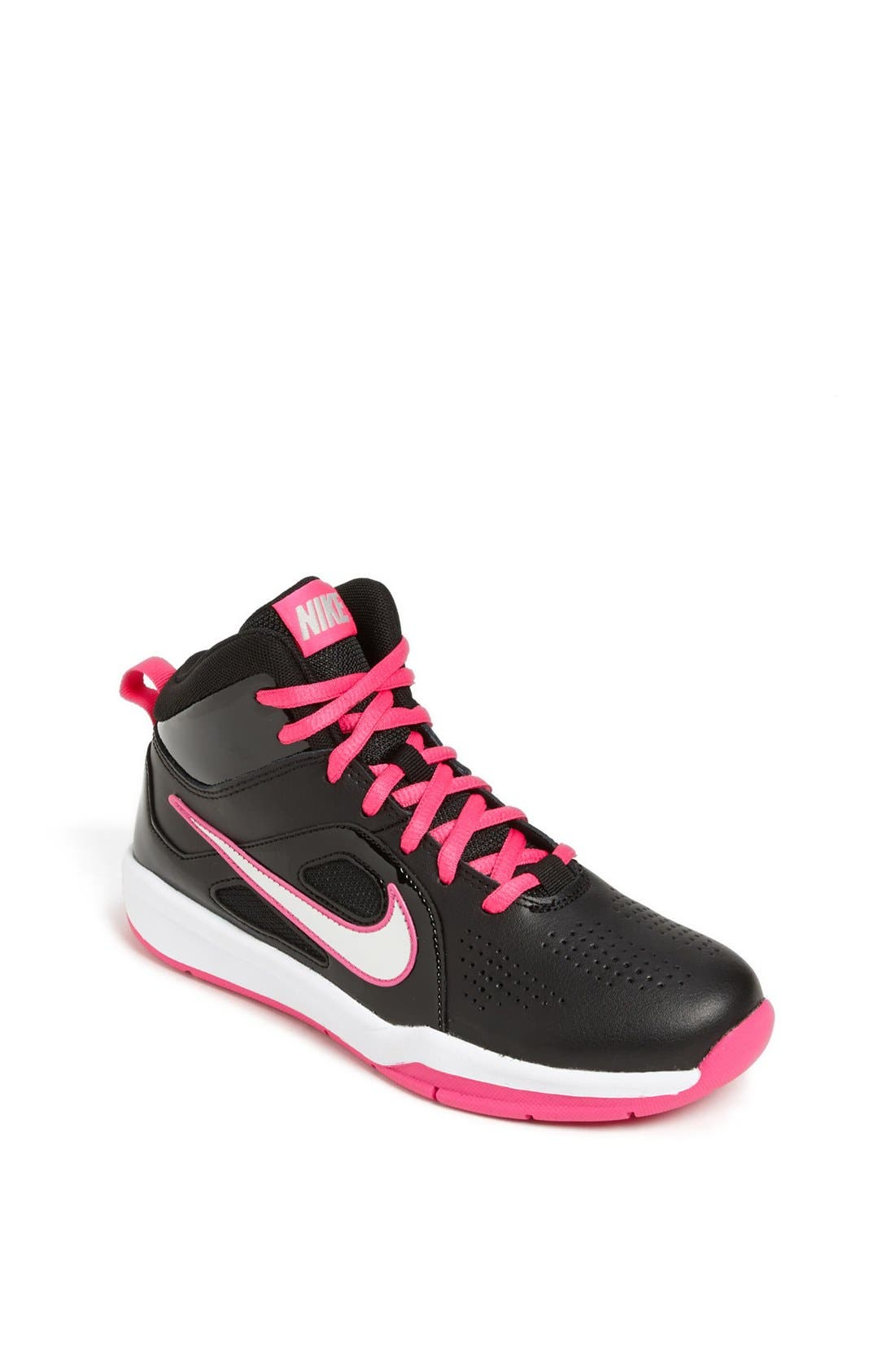 Alternate Image 1 Selected - Nike 'Team Hustle' Basketball Shoe (Toddler, Little Kid & Big Kid)