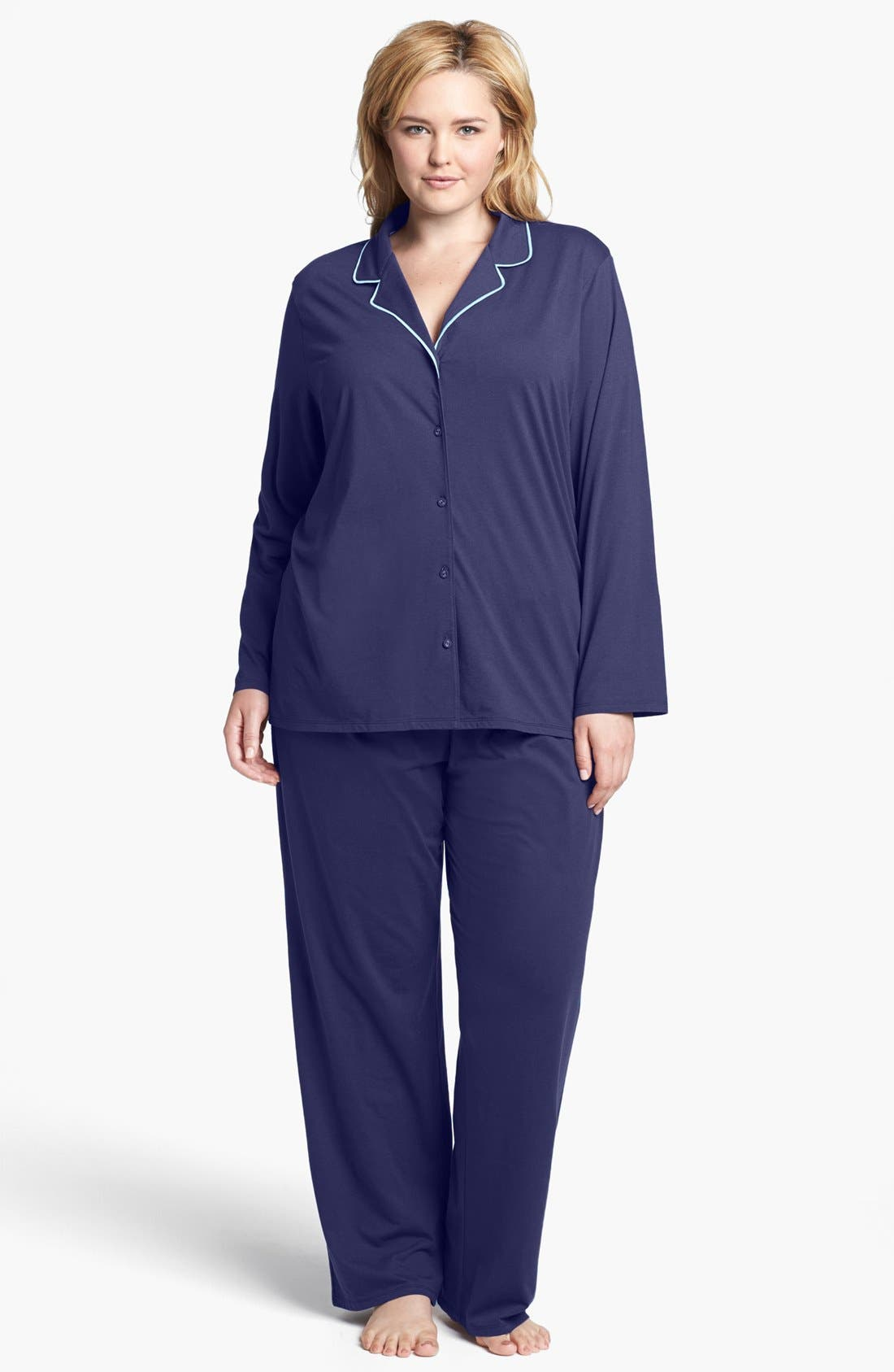 Main Image - Nordstrom 'Effortless' Pajamas (Plus Size)