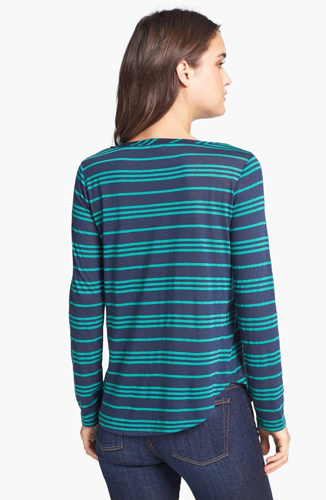 Alternate Image 2  - Splendid 'Stockholm' Stripe Jersey Tee