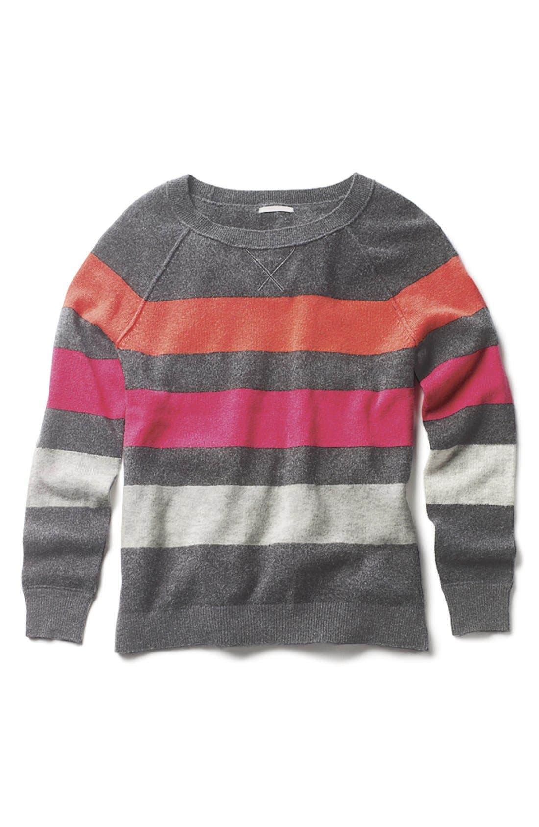 Alternate Image 6  - Halogen® Cashmere Crewneck Sweater