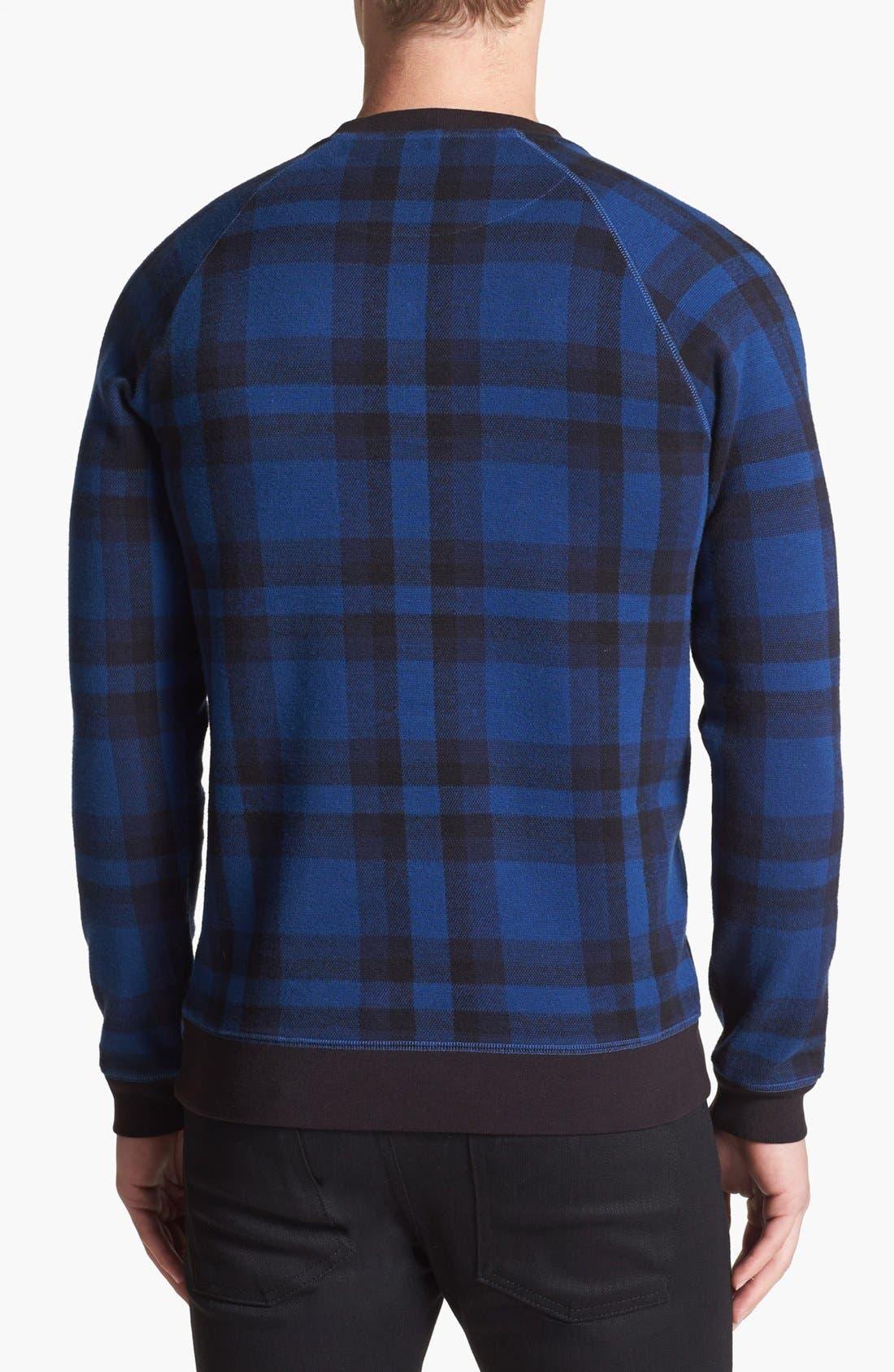 Alternate Image 2  - MARC BY MARC JACOBS 'Sheffield' Plaid Sweatshirt