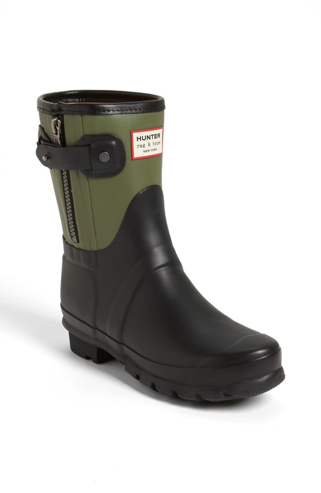 Alternate Image 1 Selected - Hunter for rag & bone Short Rain Boot (Women)