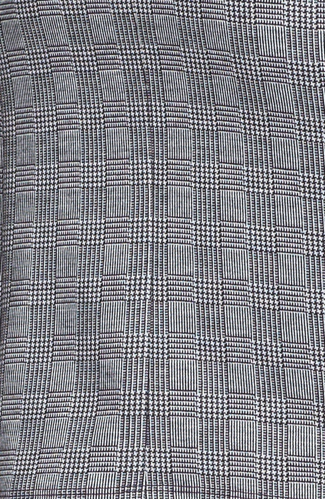 Alternate Image 3  - Vince Camuto Side Zip Glen Plaid Pencil Skirt (Petite) (Nordstrom Exclusive)