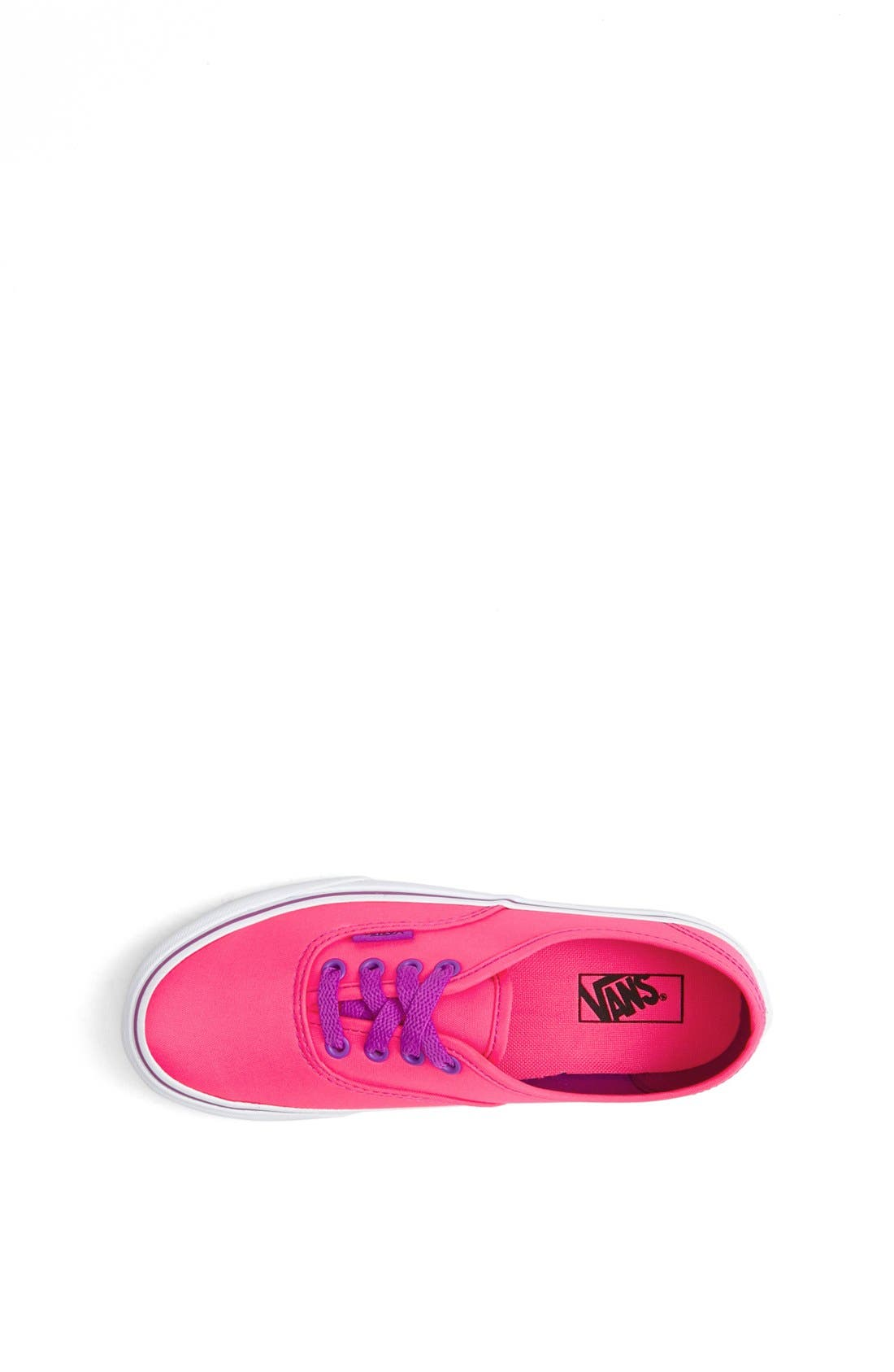 Alternate Image 3  - Vans 'Authentic' Neon Sneaker (Toddler, Little Kid & Big Kid)