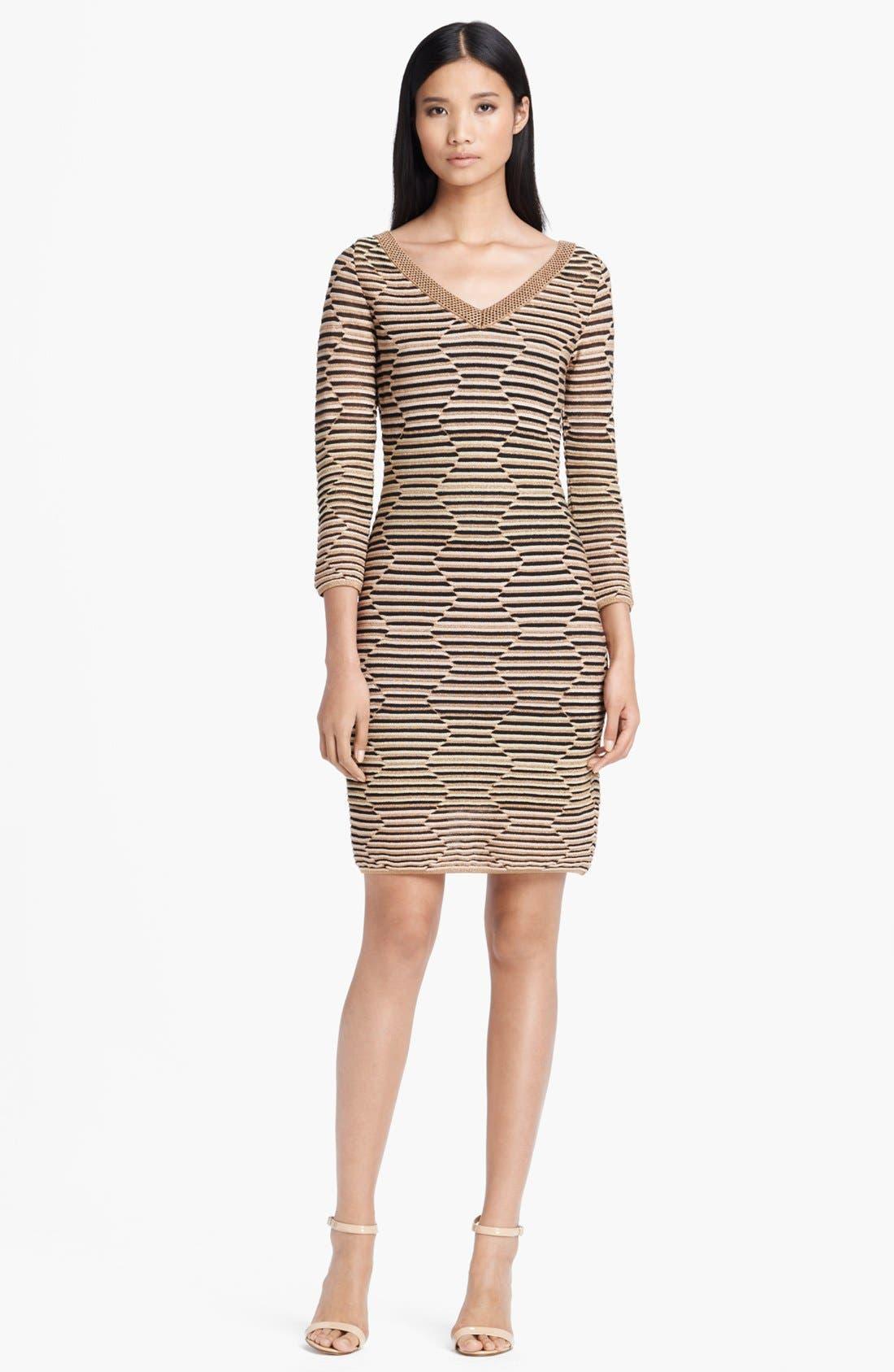 Main Image - M Missoni Hexagon Stripe Dress