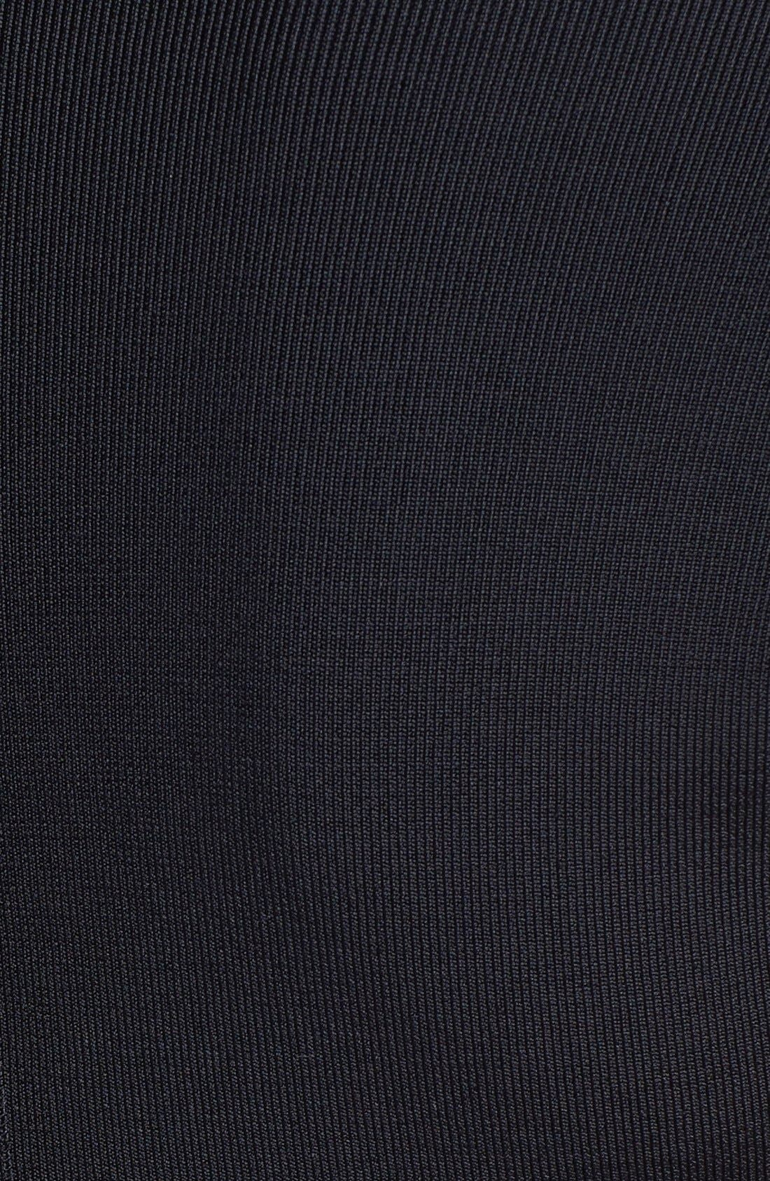 Alternate Image 3  - Vince Camuto Banded Cap Sleeve Knit Dress