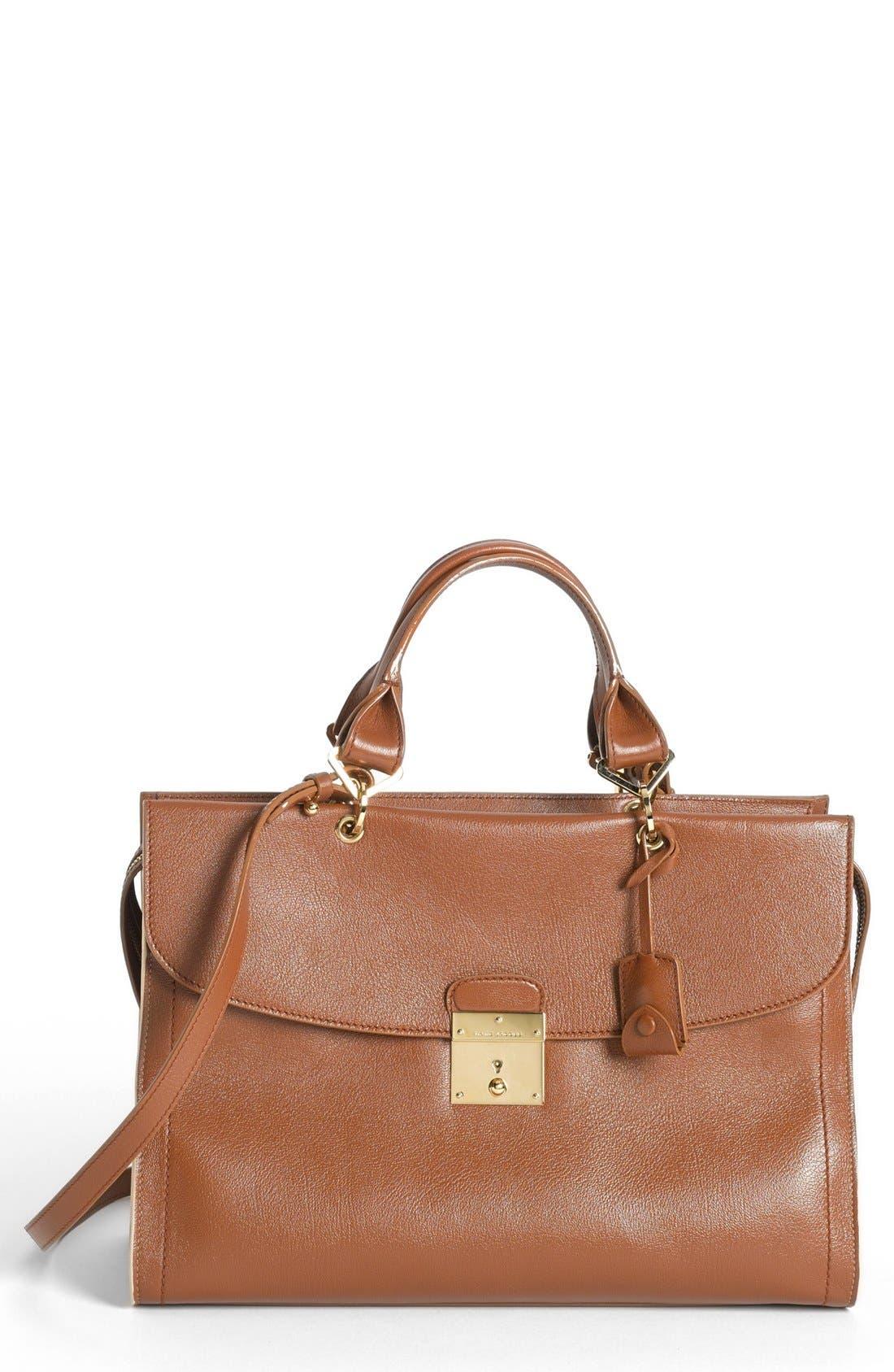 Main Image - MARC JACOBS '54' Leather Satchel