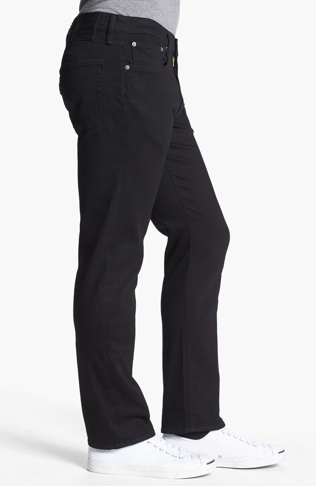 Alternate Image 3  - Levi's® 513™ Slim Straight Leg Jeans (Nightshine)