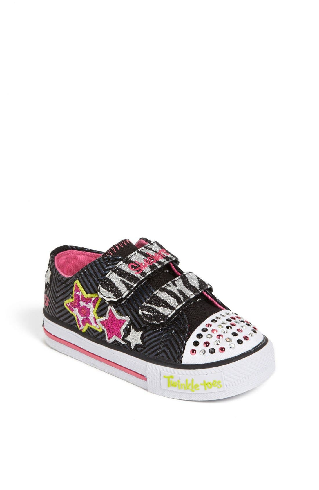 Main Image - SKECHERS 'Twinkle Toes - Wild Starlight' Light-Up Sneaker (Walker & Toddler)