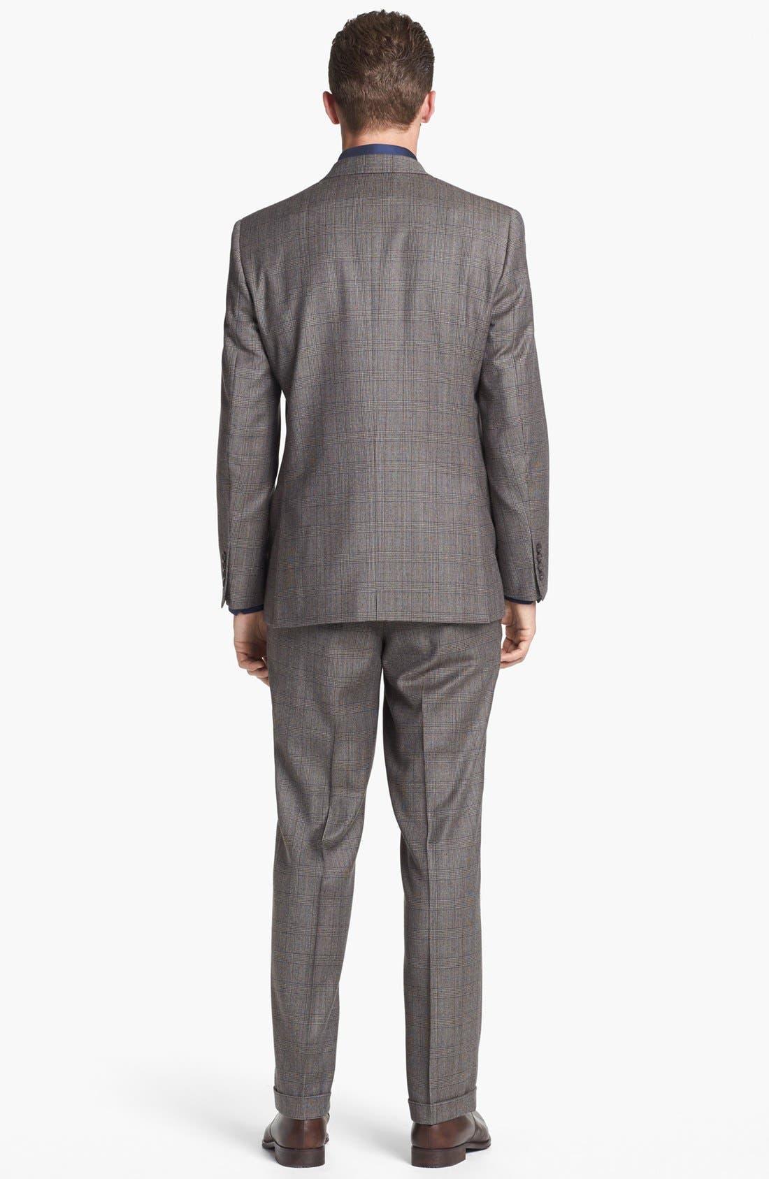 Alternate Image 3  - Ted Baker London 'Jones' Trim Fit Plaid Suit