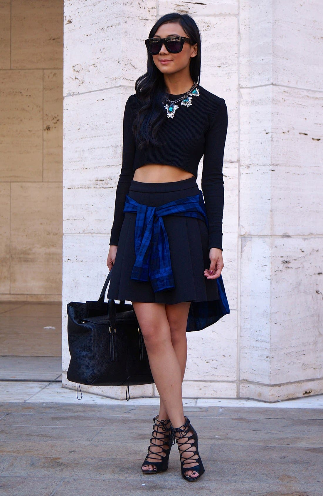 Alternate Image 3  - Enza Costa Cotton & Cashmere Jersey Sweater