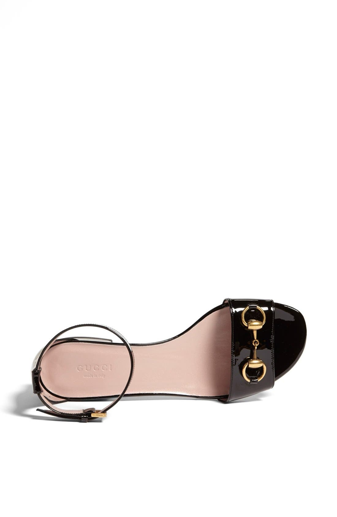 Alternate Image 3  - Gucci 'Liliane' Ankle Strap Sandal