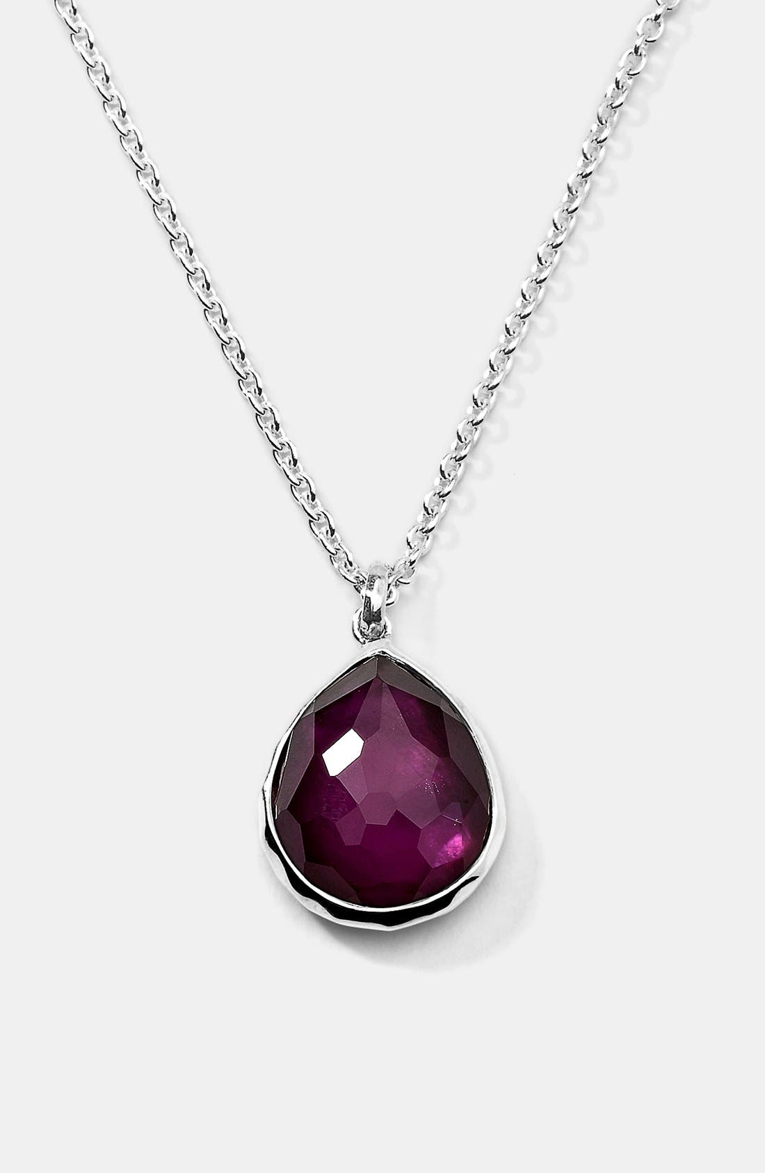 Alternate Image 1 Selected - Ippolita Teardrop Pendant Necklace (Online Only)