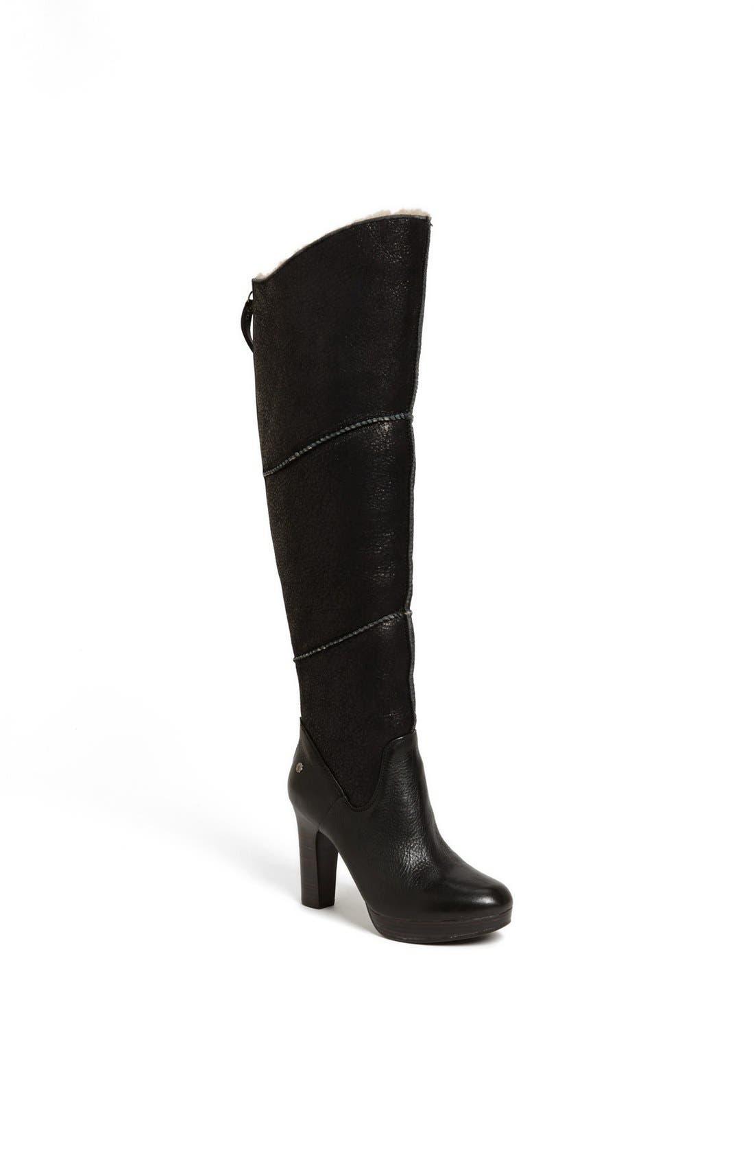 Alternate Image 1 Selected - UGG® Australia 'Dreaux' Boot (Wide Calf)