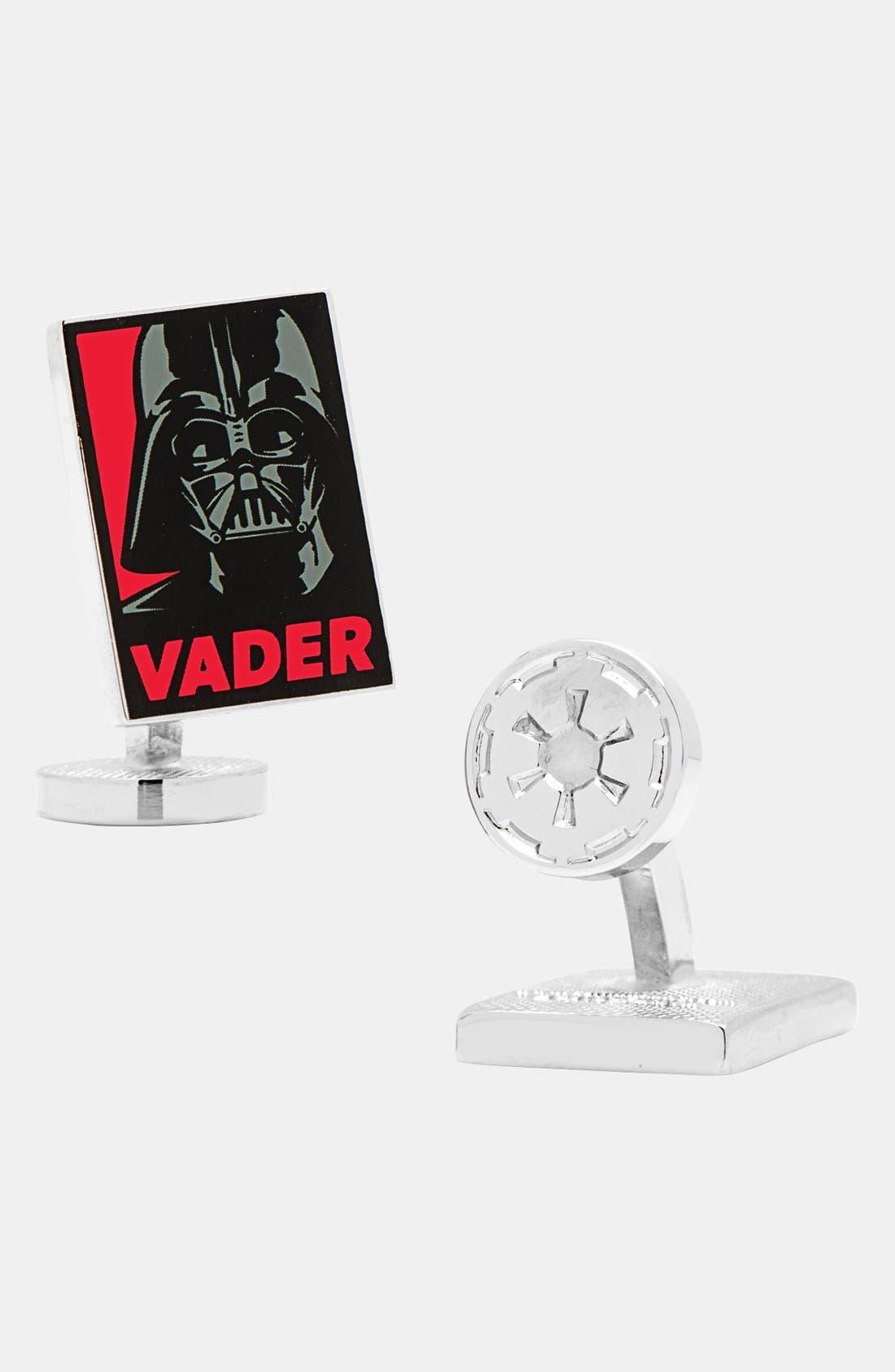 Main Image - Cufflinks, Inc. 'Darth Vader™ Pop Art Poster' Cuff Links
