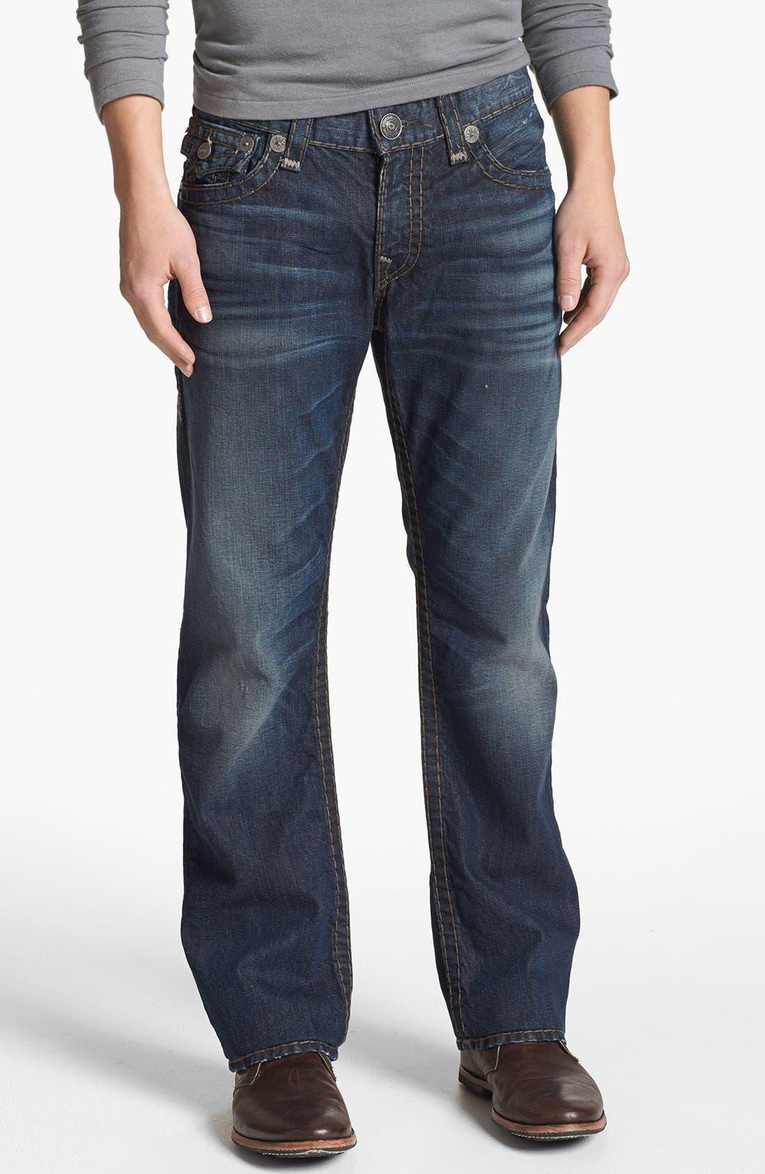 Alternate Image 2  - True Religion Brand Jeans 'Ricky - Super T' Straight Leg Jeans (Asjd Breaking Grounds)