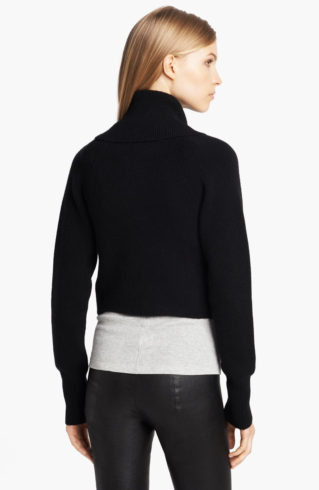 Alternate Image 2  - Donna Karan Collection Midweight Ribbed Cozy