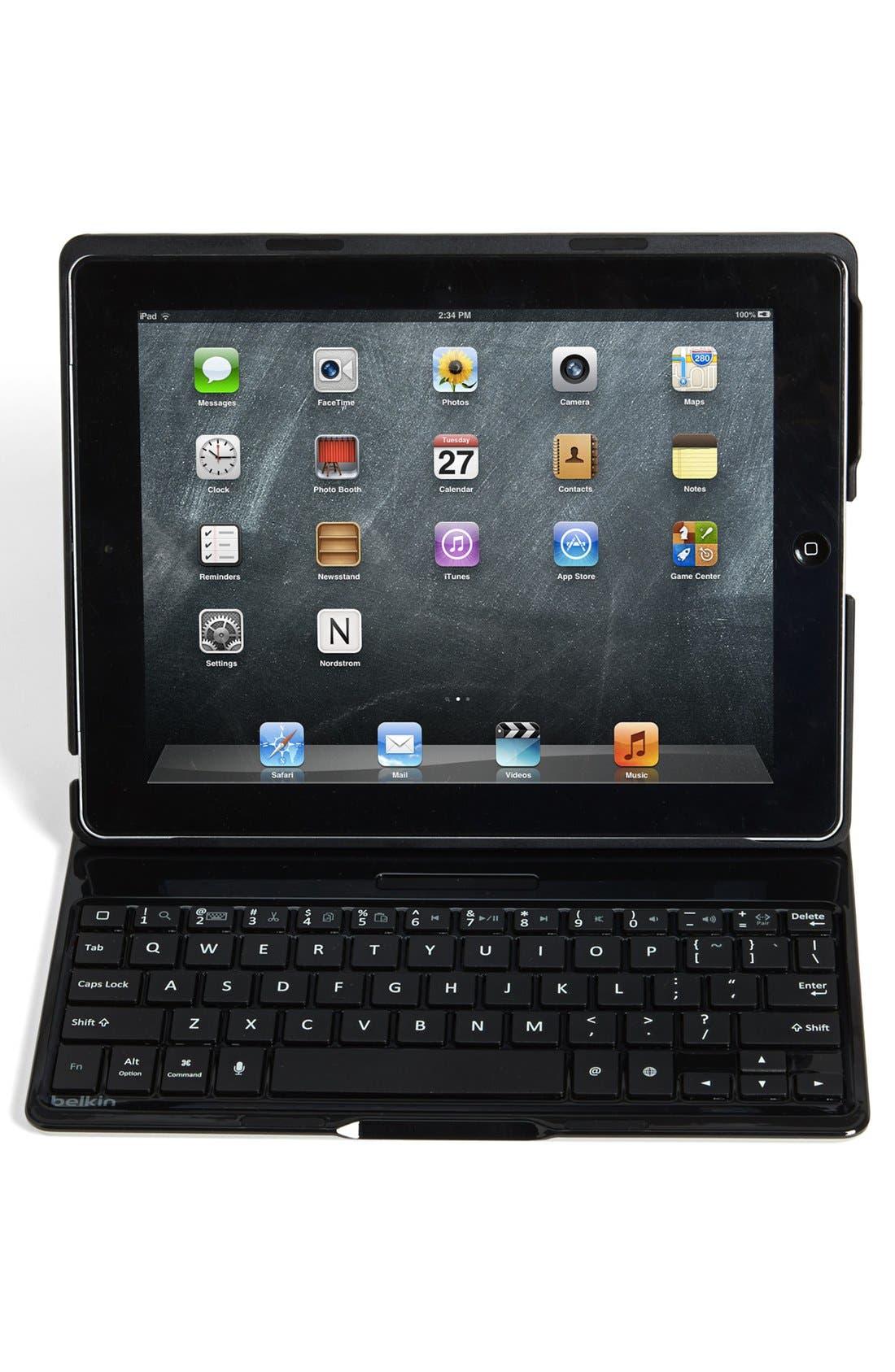 Alternate Image 1 Selected - Belkin iPad Keyboard Case
