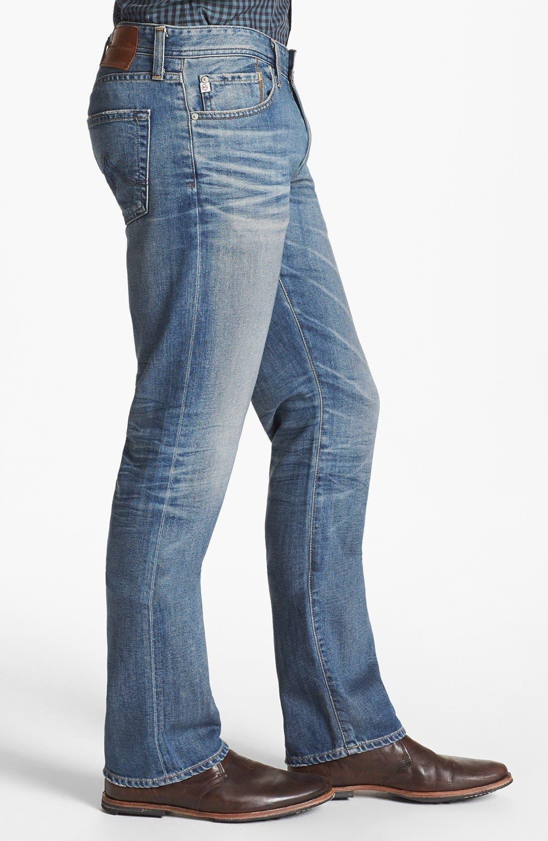 Alternate Image 3  - AG 'Protégé' Straight Leg Jeans (16 Year Fuse)