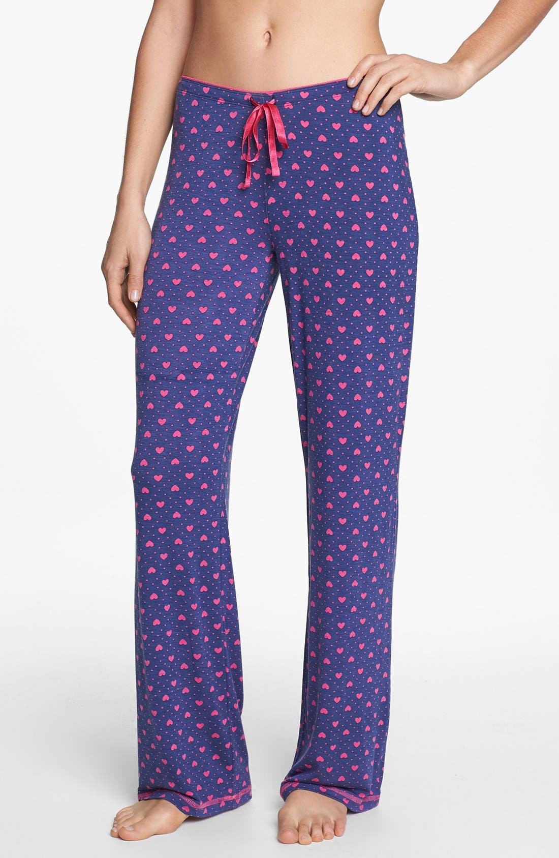 Alternate Image 1 Selected - PJ Salvage 'Queen of Hearts' Lounge Pants