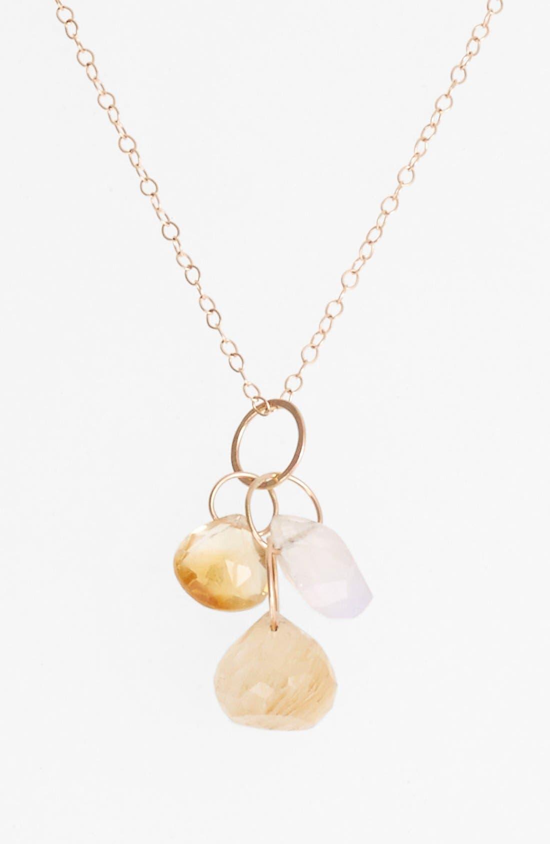 Alternate Image 2  - Melissa Joy Manning Cluster Pendant Necklace