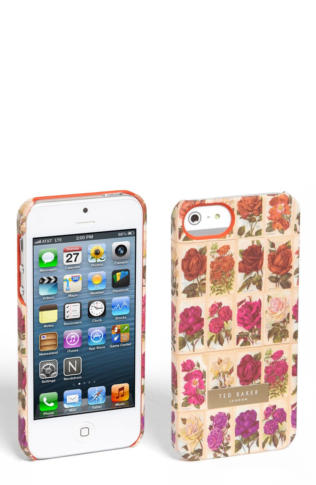 Alternate Image 1 Selected - Ted Baker London 'Floral' iPhone 5 Case
