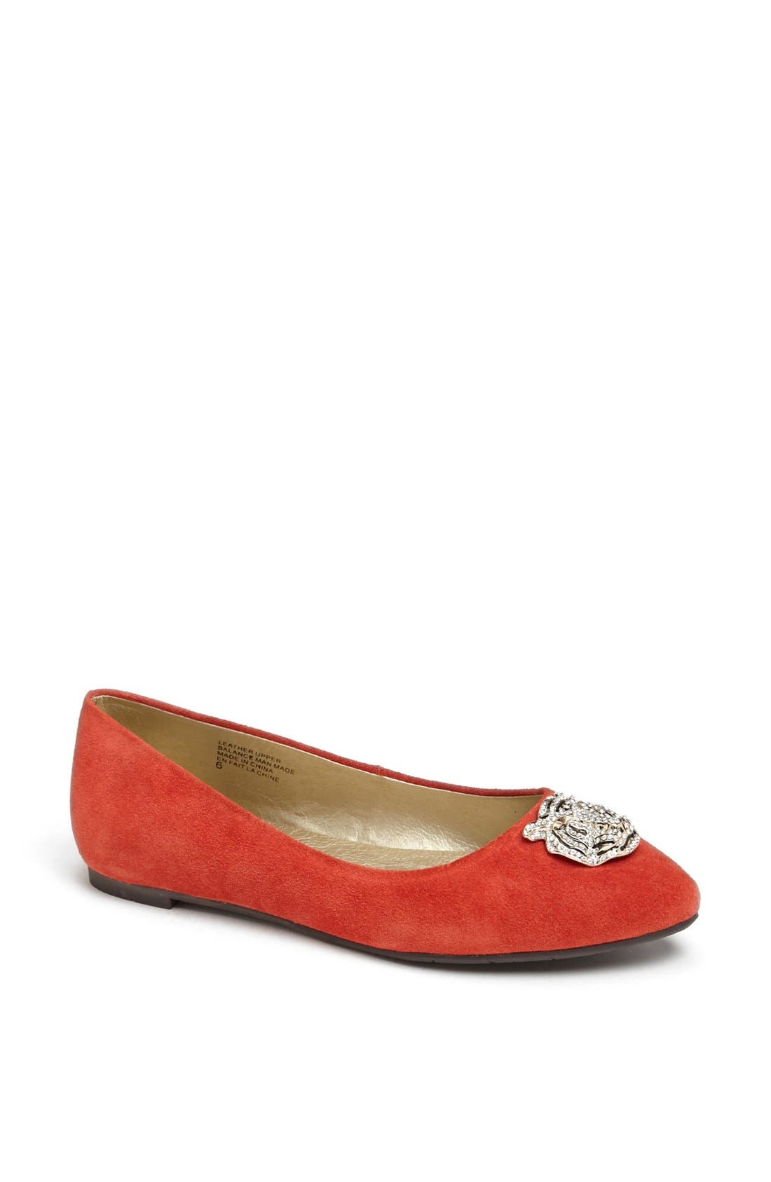 Alternate Image 1 Selected - BC Footwear 'Tempo' Tiger Charm Flat