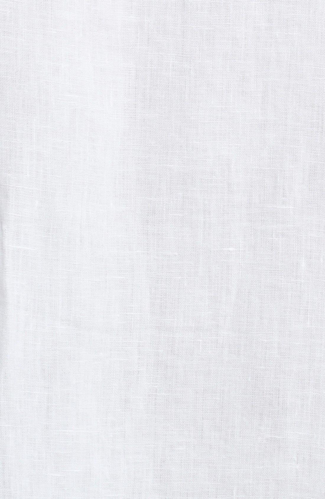 Alternate Image 3  - eskandar Long Handkerchief Linen Tunic