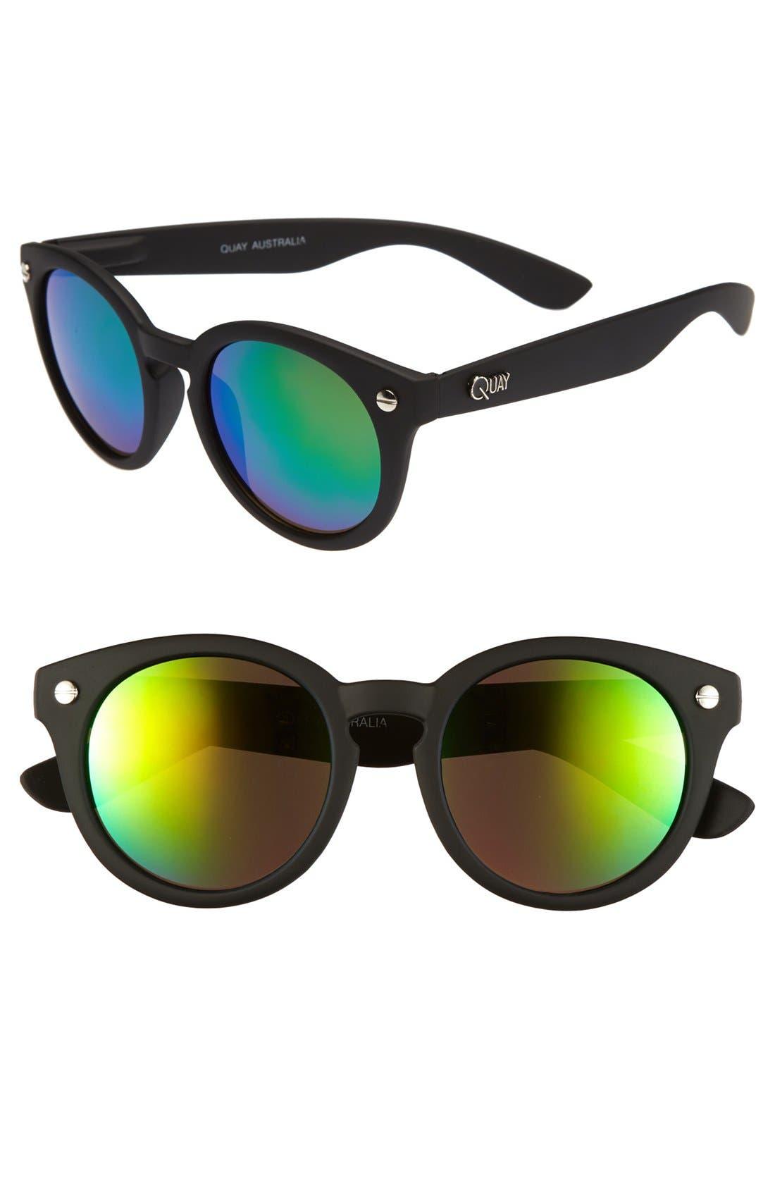 Main Image - Quay 50mm Retro Sunglasses