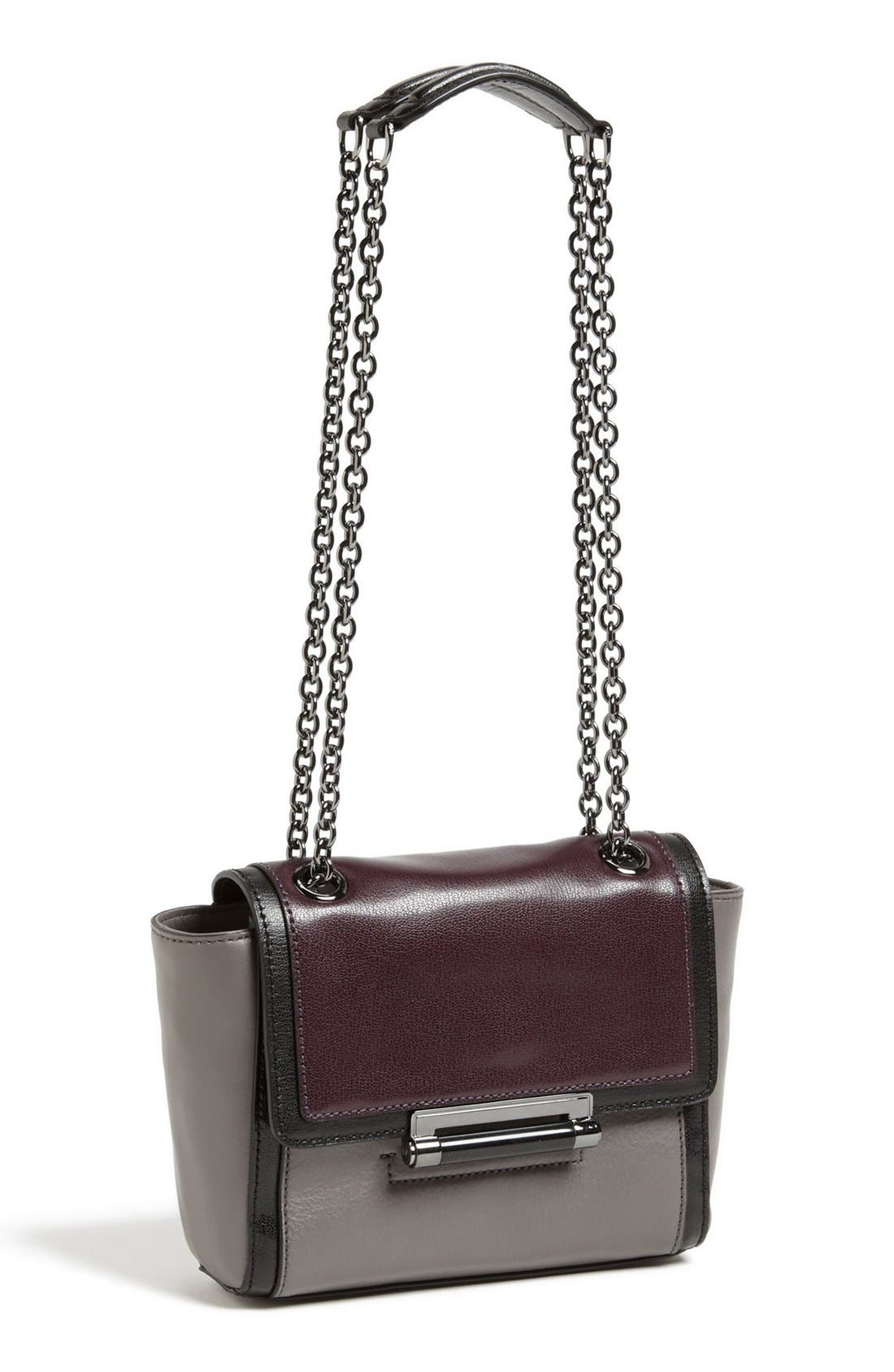 Alternate Image 1 Selected - Diane von Furstenberg '440 Mini' Colorblock Satchel