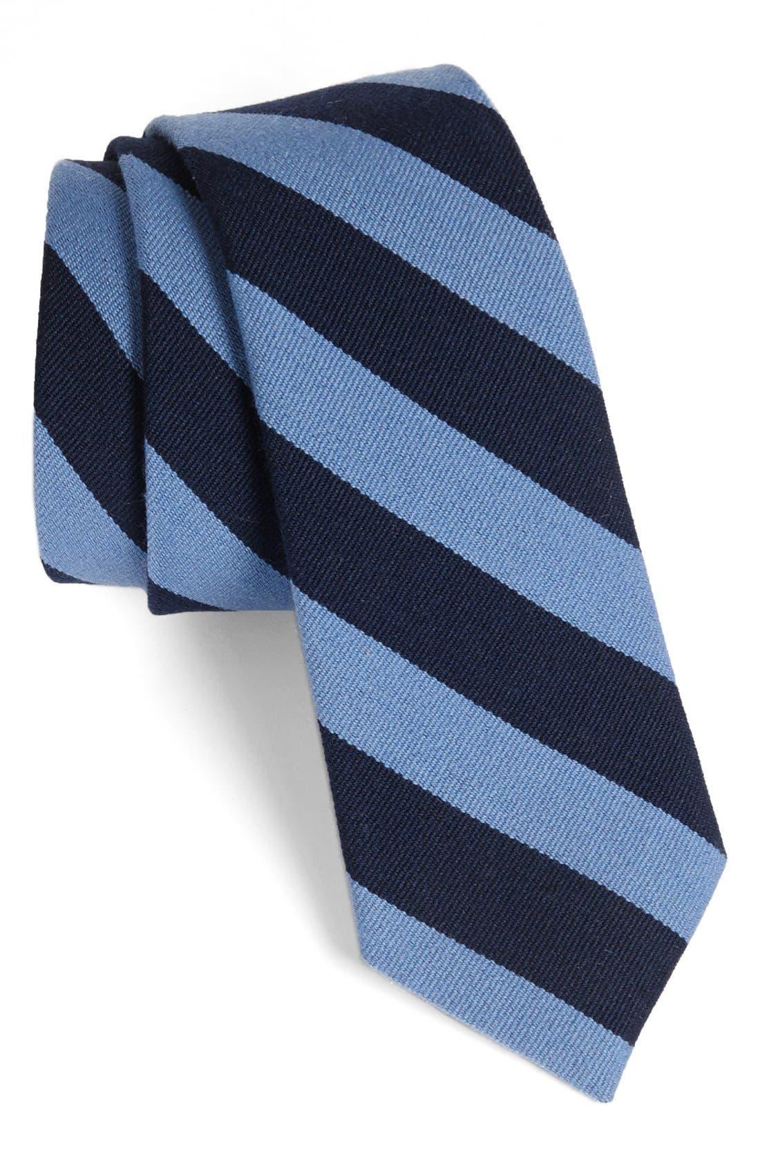 Main Image - Robert Stewart Stripe Tie