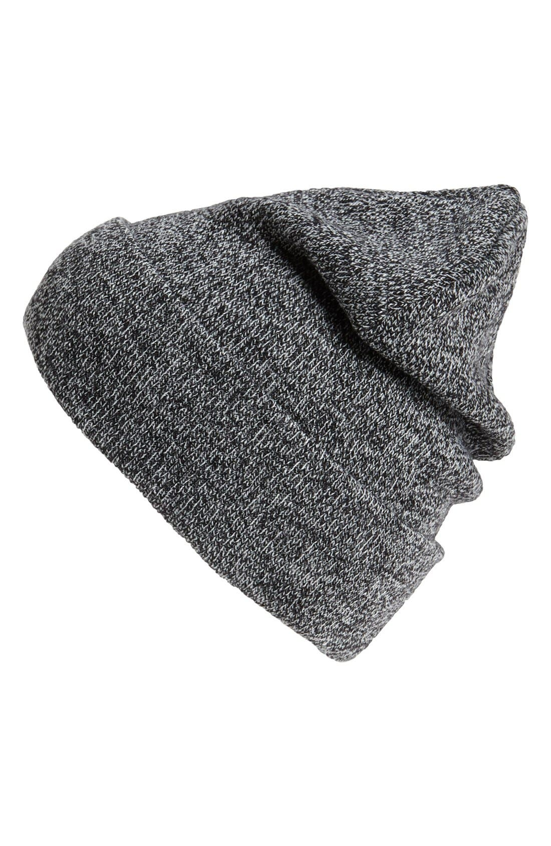 Alternate Image 1 Selected - Topman Mixed Yarn Beanie