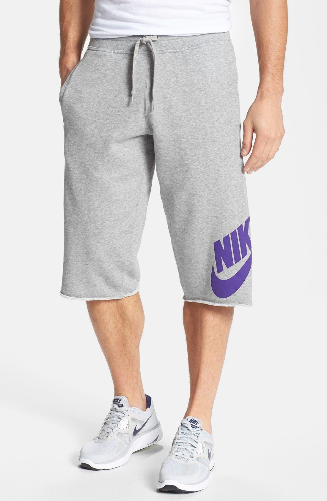 Alternate Image 1 Selected - Nike 'Heritage Pick-Up Game' Basketball Shorts
