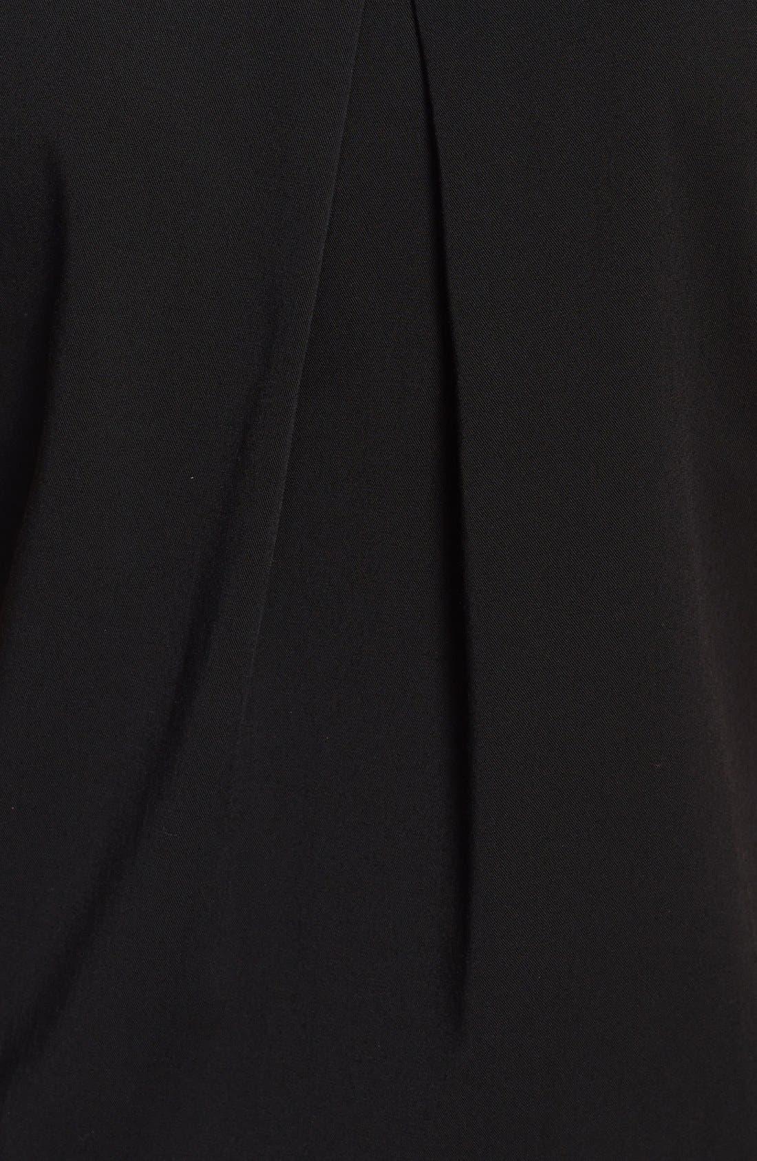 Alternate Image 3  - Black Halo 'Dusk' Blouson Jumpsuit