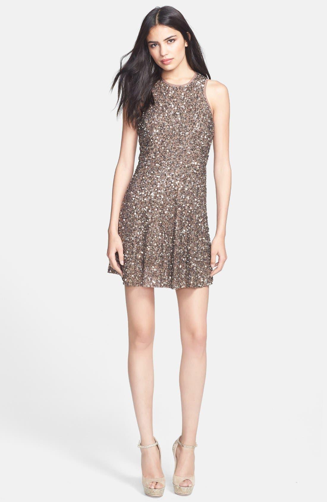 Main Image - Parker 'Audrey' Embellished A-Line Dress