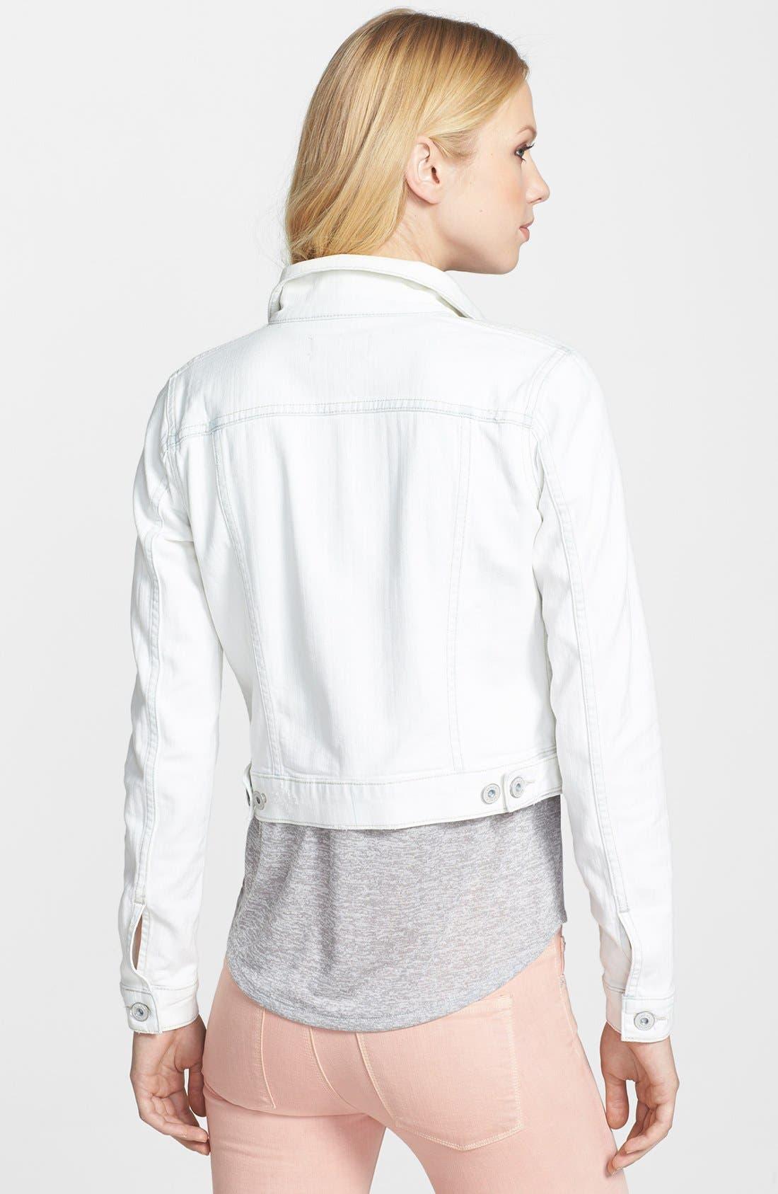 Alternate Image 2  - Vince 'Parker' Classic Denim Jacket