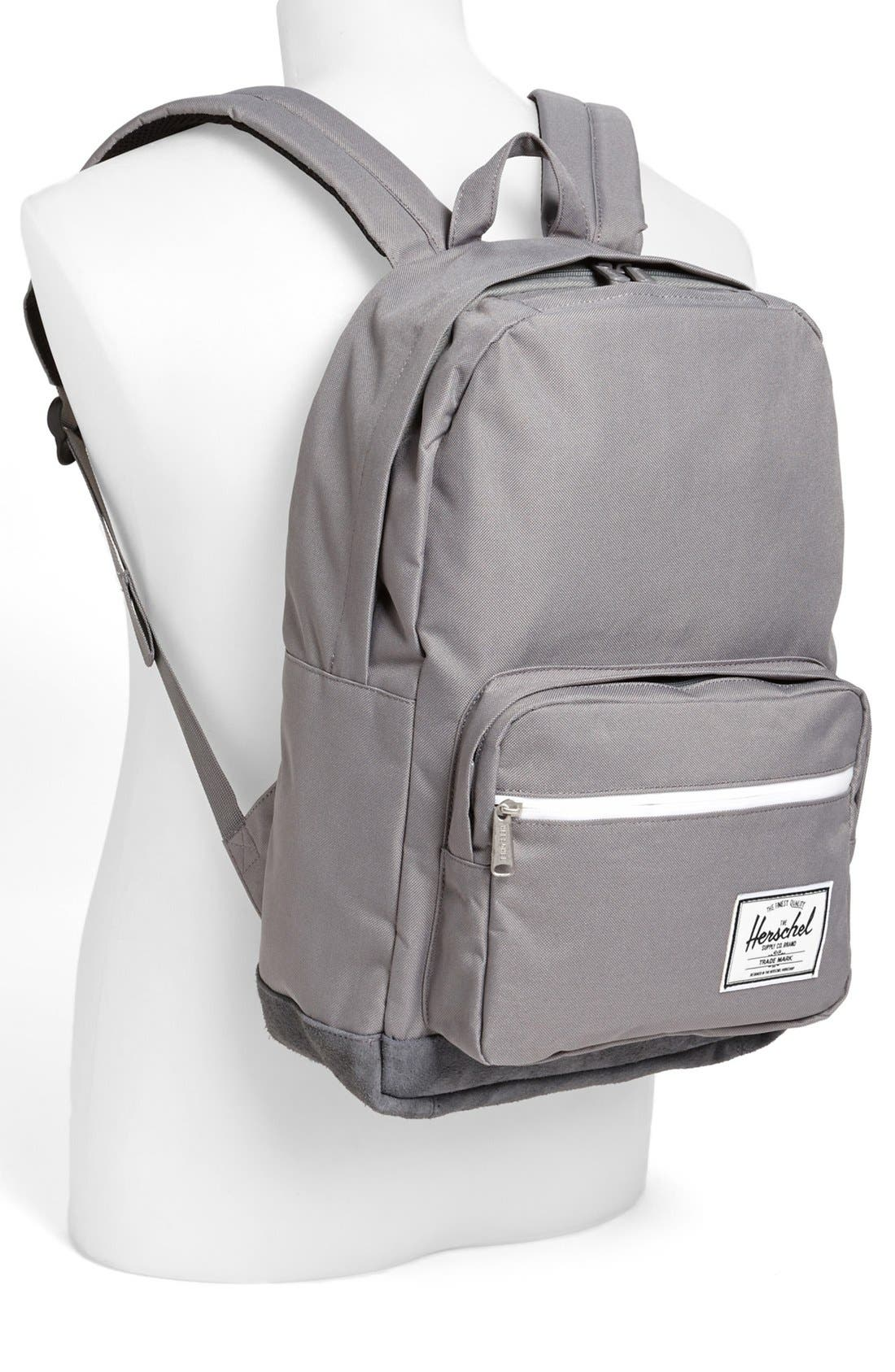 Alternate Image 4  - Herschel Supply Co. 'Pop Quiz' Suede Trim Backpack