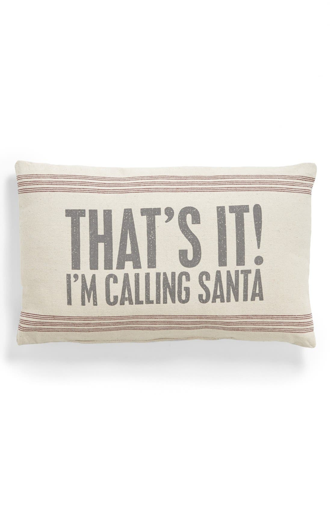 Alternate Image 1 Selected - Primitives by Kathy 'Calling Santa' Pillow