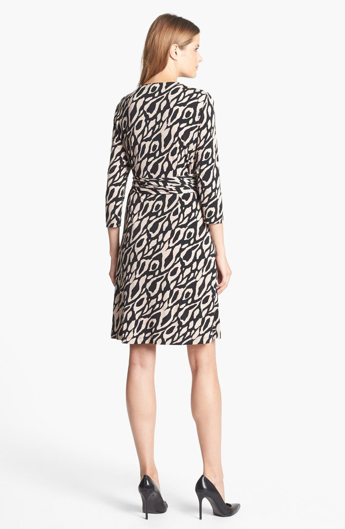 Alternate Image 3  - Tahari Print Jersey Wrap Dress