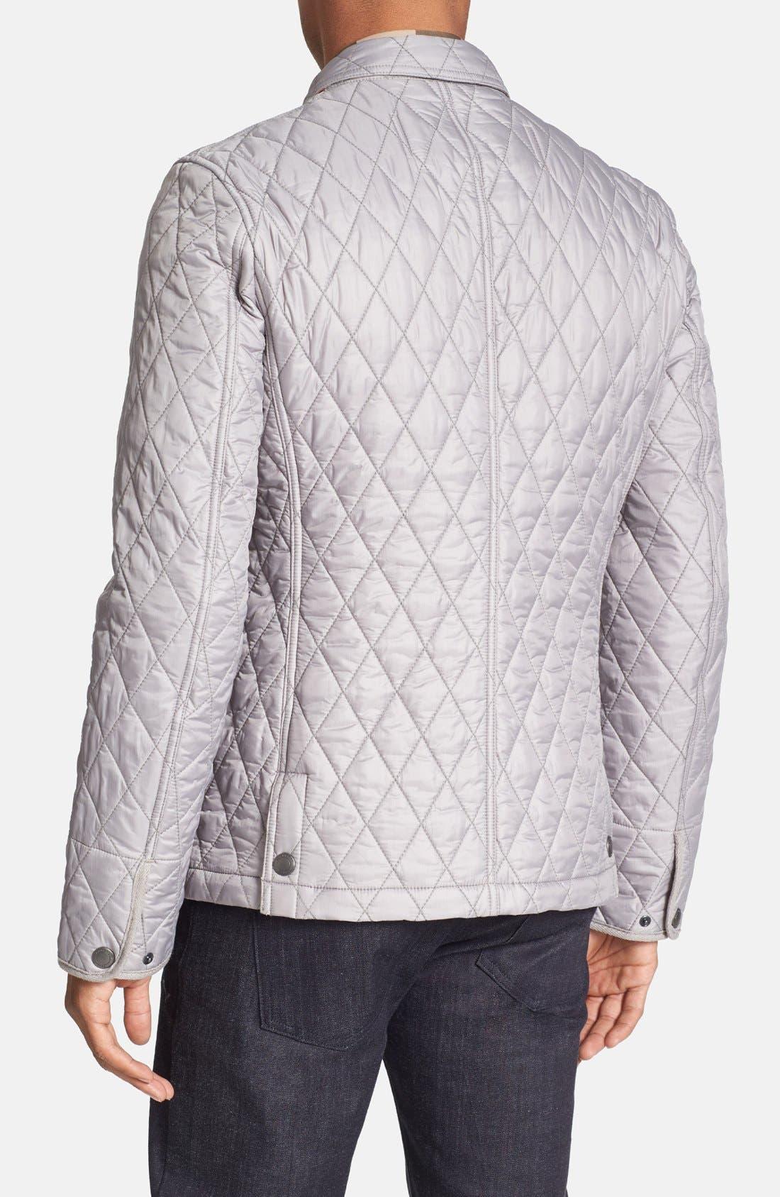 Alternate Image 2  - Burberry Brit 'Howe' Quilted Jacket