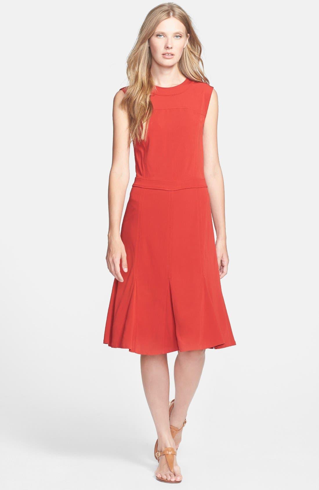 Main Image - Tory Burch 'Deeann' Woven A-Line Dress