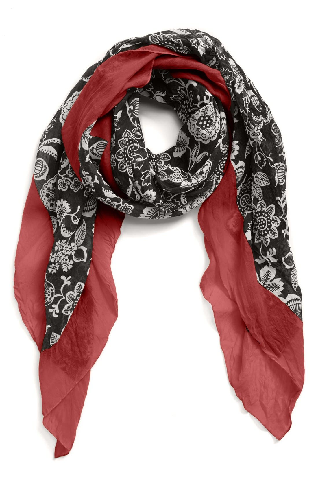 Alternate Image 1 Selected - Nordstrom 'Gypsy Floral' Square Scarf