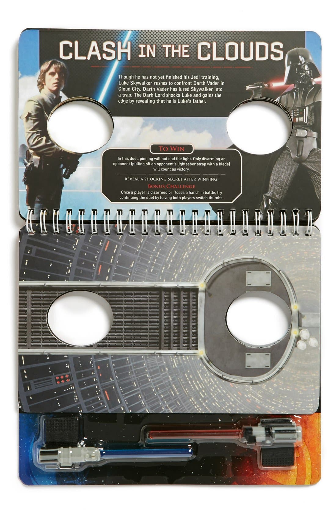 Alternate Image 2  - 'Star Wars™ Lightsaber Thumb Wrestling' Book