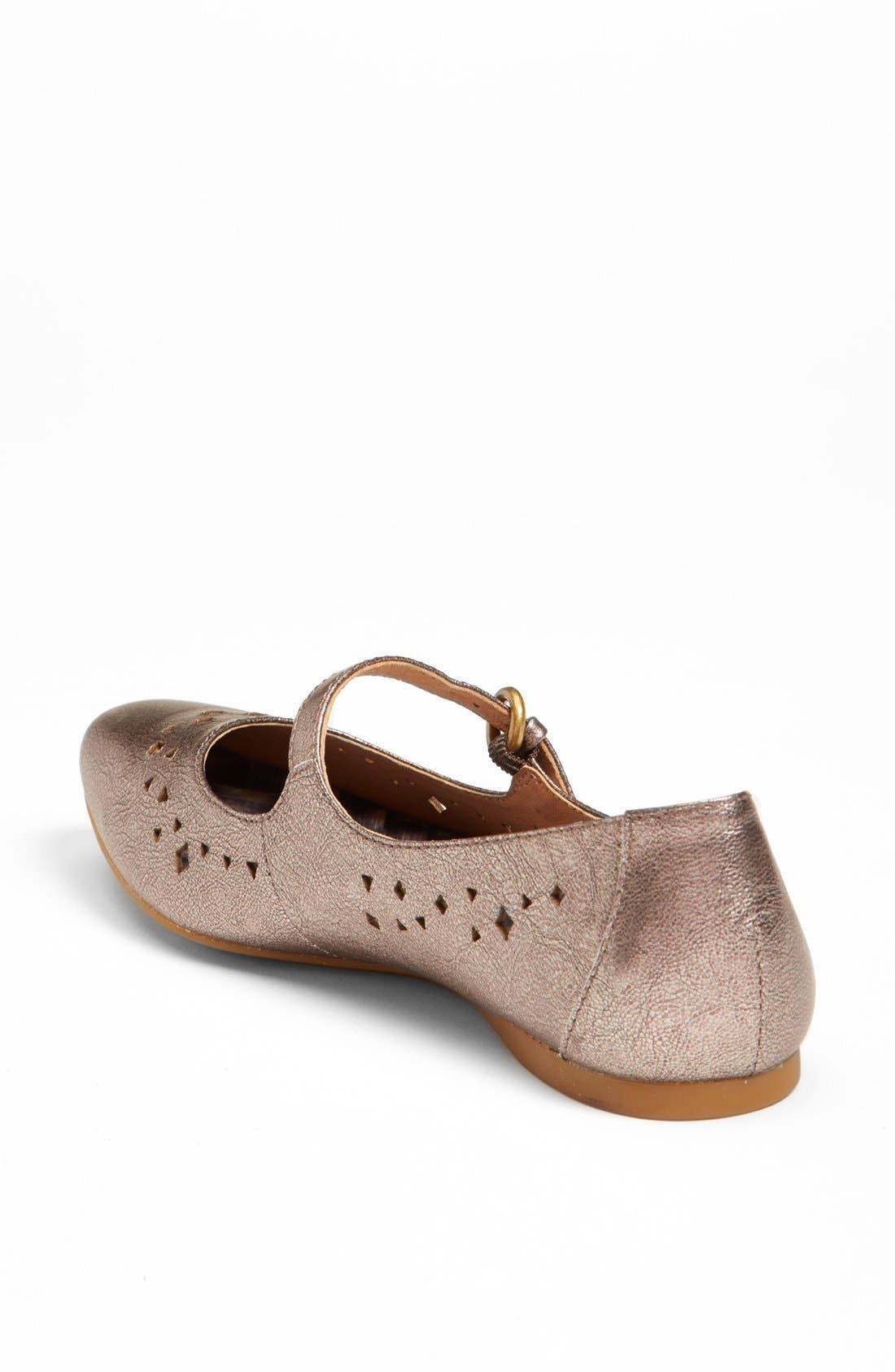 Alternate Image 2  - Børn 'Linney' Leather Flat